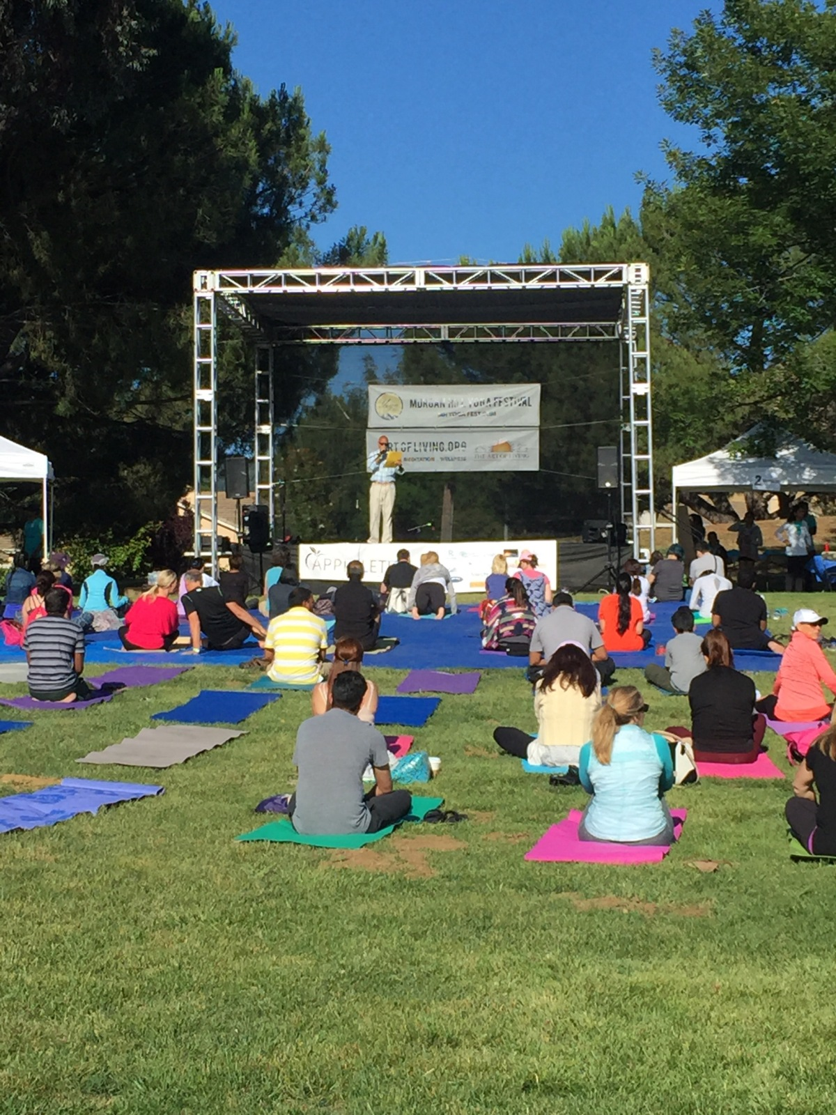 Morgan Hill Yoga Festival Review