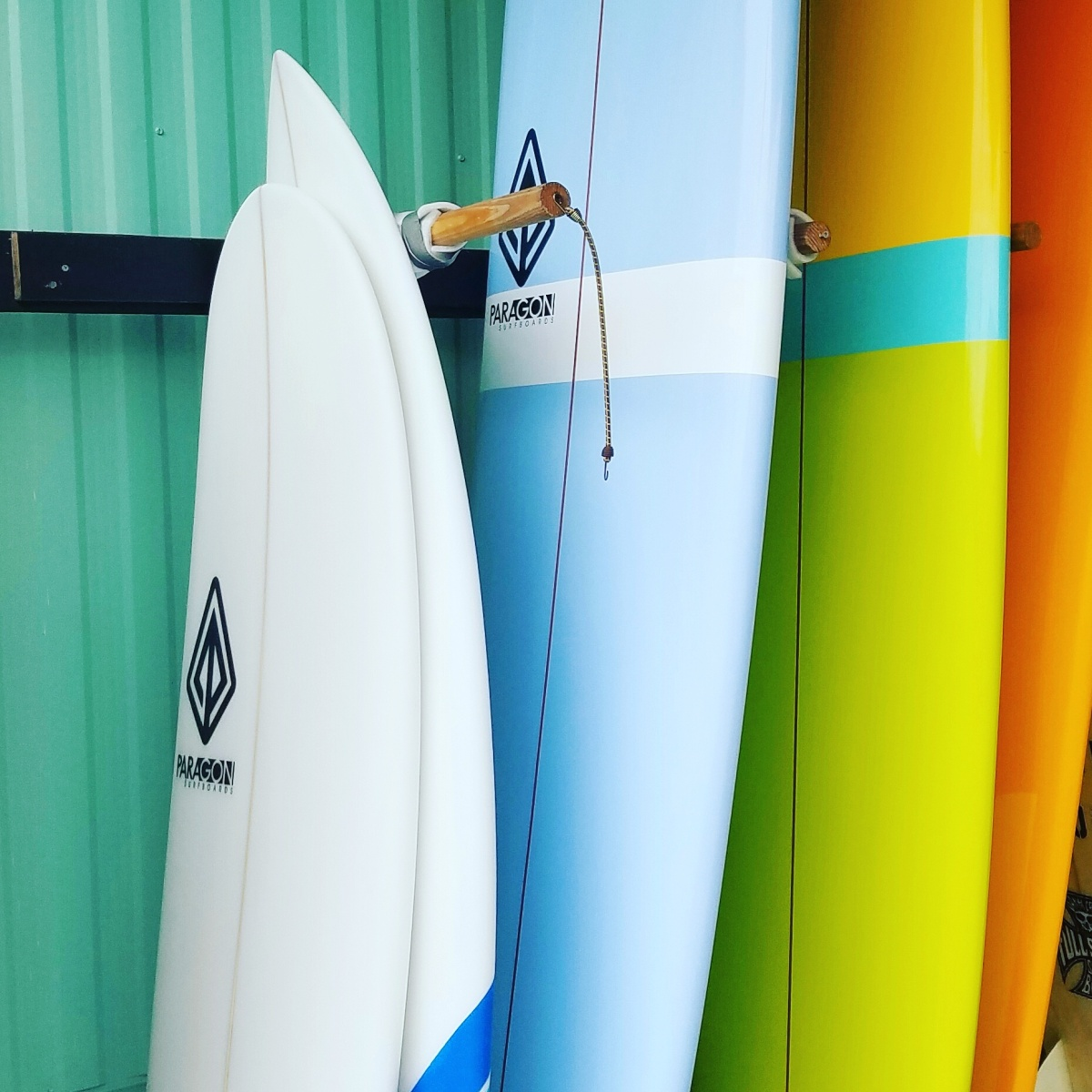 Paragon Surfboards: The Mini-Log and RetroNoserider
