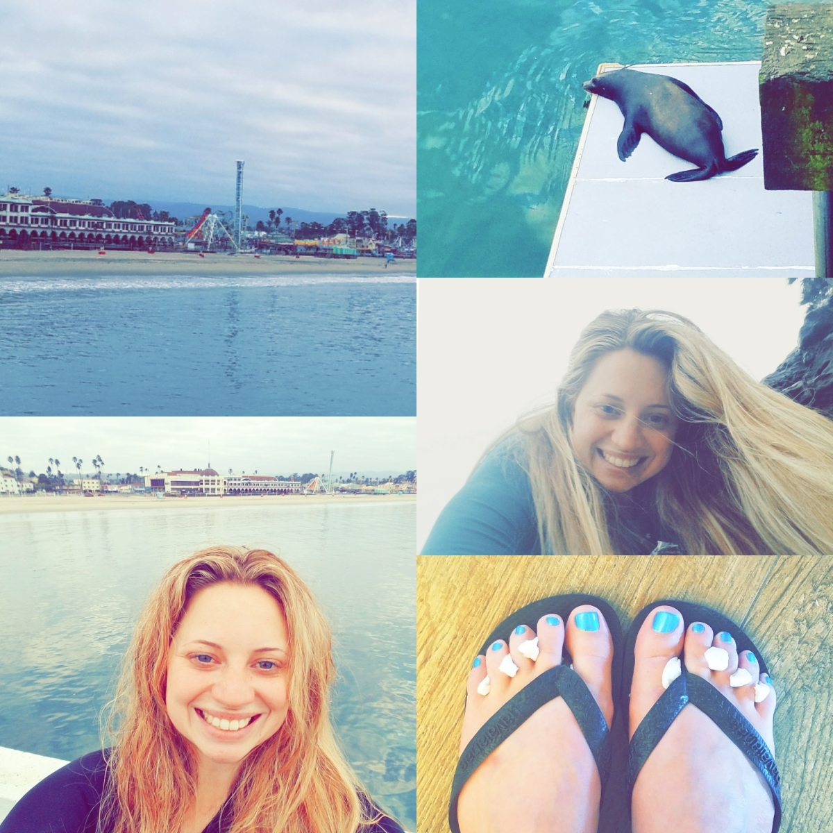 3 Surf Sessions, 2 Yoga Practices, and 1 Short Distance Run…and a Pedicure