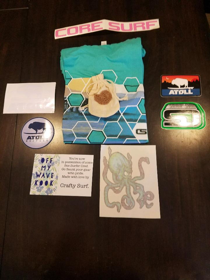 Crafty Surf Contest Prizes
