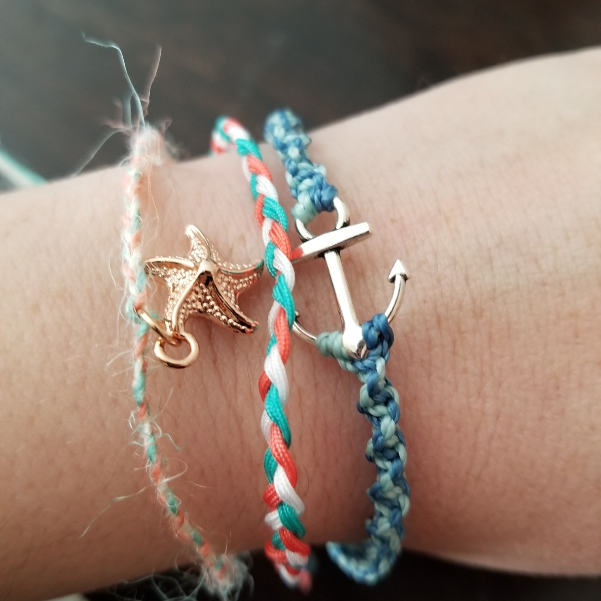 Beachy, Surfy, Yogi Bracelets