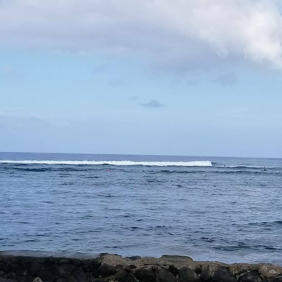 Surfer Girl and The Big Island